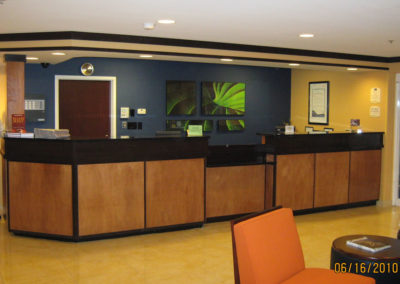 Fairfield Inn Brunswick Front Desk