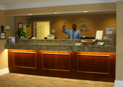 Suburban Extended Stay Hotel Front Desk