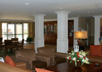 Suburban Extended Stay Hotel Lounge