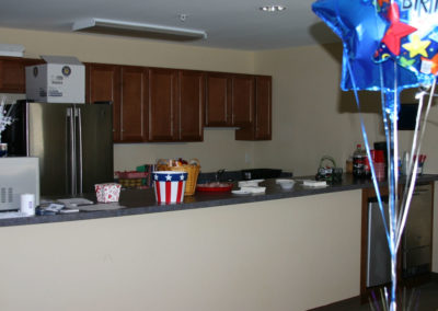Suburban Extended Stay Hotel kitchen detail